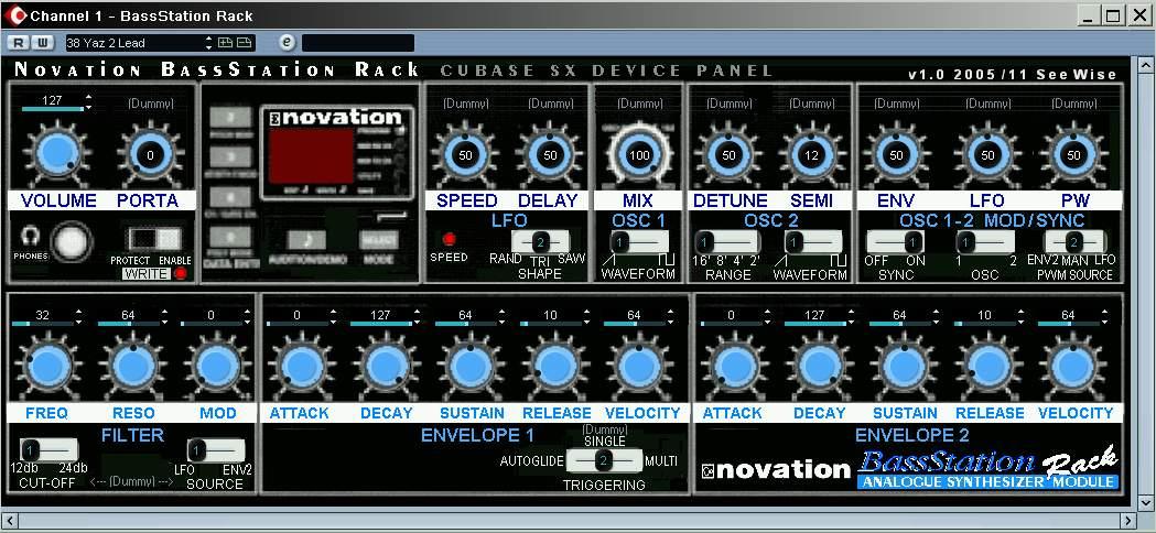 Novation bassstation rack patches